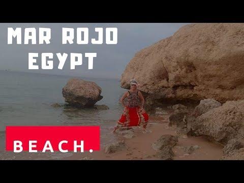 TRAVEL/MAR ROJO SUNRISE AND SUNSET BEACH, RELAX.SHARM EL SHEIKH/The Read Sea Coast.