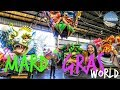MARDI GRAS WORLD IN NEW ORLEANS | LOUISIANA TRAVEL GUIDE ⚜