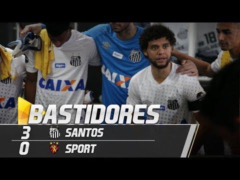 Santos 3 x 0 Sport | BASTIDORES | Brasileirão (18/08/18)