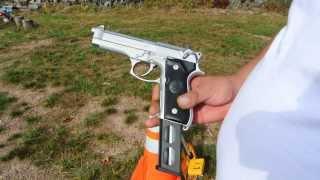 Stainless Beretta 92 FS