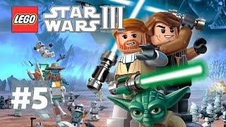 LEGO Star Wars 3 TCW Прохождение #5 Стратегия в стиле Старкрафт(Продолжаем прохождение детской игры Лего Звездные Войны 3 Войны Клонов полностью на русском. Очередная..., 2015-02-03T13:57:45.000Z)