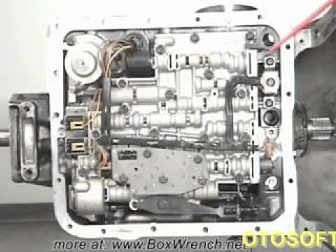 hqdefault youtube automatic transmission valve body removal 4l60e shift 4L60E Transmission Wiring Diagram at gsmx.co
