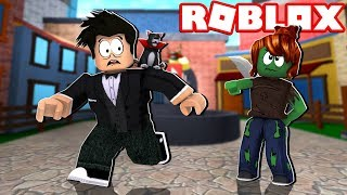 GREEN ZOMBIE CAUGHT THE LOKIS NO MURDER MYSTERY | ROBLOX-Murder Mystery 2