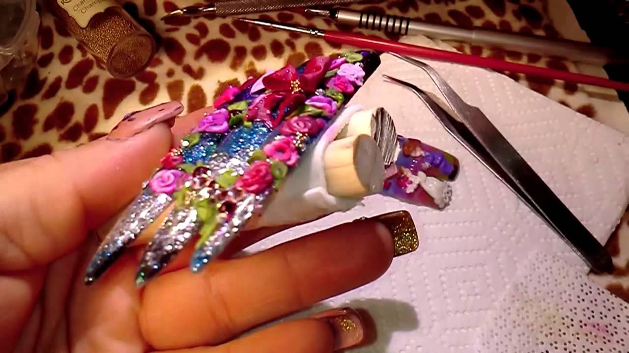 Concurso diseo creativo de luliz y fantasy nails  YouTube