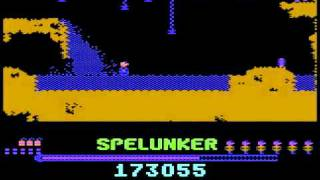 c64 Longplay - Spelunker