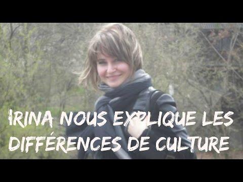Jeune femme Ukrainienne qui a travaillé au Canada Irina