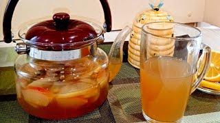 #рецепты #чай        Ароматный яблочный сбитень