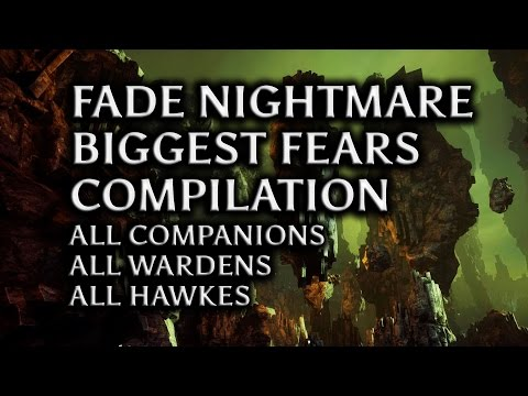 Dragon Age: Inquisition - Fade Nightmare biggest fears compilation (all companions, Wardens &Hawkes)