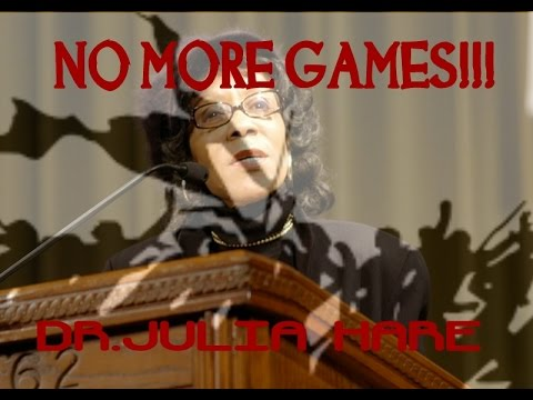 DR.JULIA HARE - NO MORE GAMES