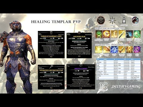 The Guardian Templar PvP Healer for ESO Clockwork City