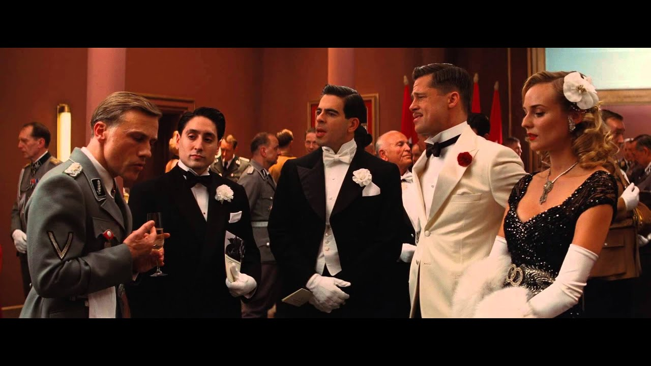 Inglourious Basterds Best Scenes - The Americans Speaking ...