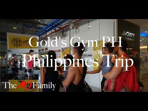 Gold's Gym PH | Philippines Trip Episode 11 | Vlog 71 | [The MJ Family]