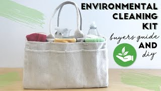 How to Make an Environmentally Friendly Cleaning Kit