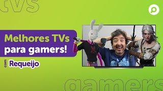 Imagem do prévia do vídeo: Como comprar TVs para GAMERS? Frequência, Input Lag, Painel e mais!