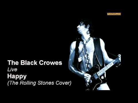 Black Crowes covering the Rolling Stones Happy