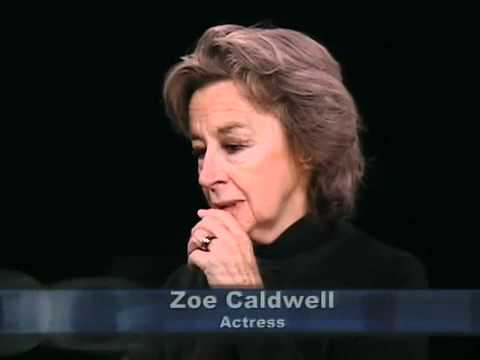 Women in Theatre: Zoe Caldwell, actress