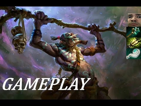 Stay Calm and Positive! | Witch Doctor Ranked Gameplay Commentary Dota 2