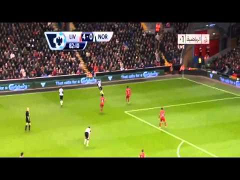 EPL Liverpol 5-1 Norwich City Goals (LUIZ SUAREZ SHOW) HD