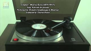 【LP】Alborada del gracioso - Maurice Ravel - Orchestre Symphonique de Montreal - Charles Dutoit
