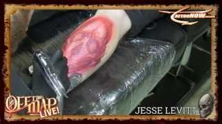Jesse Levitt Time Lapse Tattoo from Off the Map LIVE!