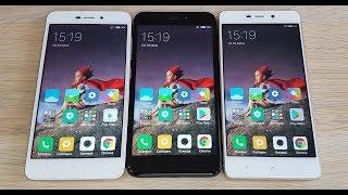 Xiaomi Redmi 4a vs Redmi 4x vs Redmi 4 Pro - КАКИЕ ОТЛИЧИЯ И ЧТО ВЫБРАТЬ