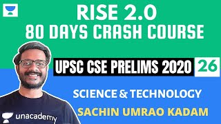 L26: Biotechnology and its Applications | Science and Technology | Crash Course Prelims 2020