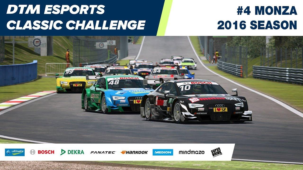 #DTMEsports Classic Challenge – Monza 2016 (Round 4)