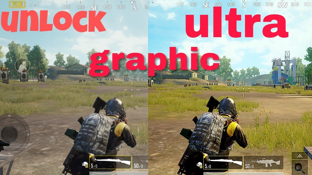 Pubg Hd Grafik: Pubg Mobile Unlock Ultra HD Graphics ( Hindi )