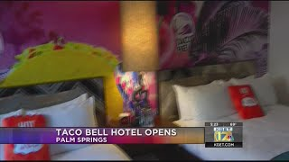 Taco Bell opens first hotel in Palm Springs