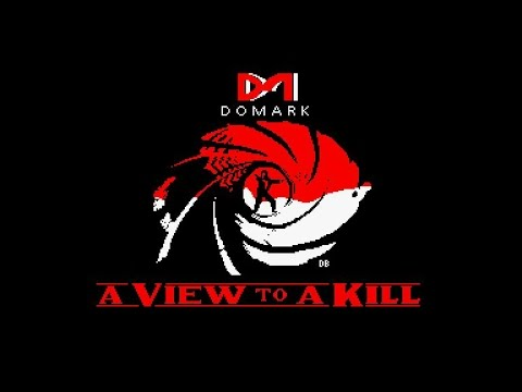 A View To A Kill 007 Theme Music for the Amstrad CPC