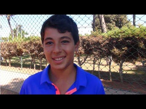 ELAMINE Hamza Chamipon National 2015 des 11 ans