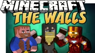 Minecraft: THE WALLS | w/ Nitro, Dumb and Dumber