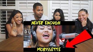 Morissette performs