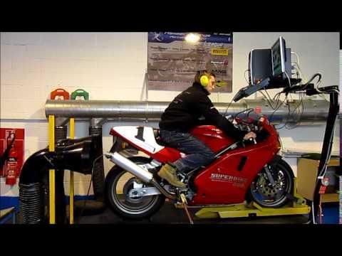 1993 Ducati 888 on the Dyno