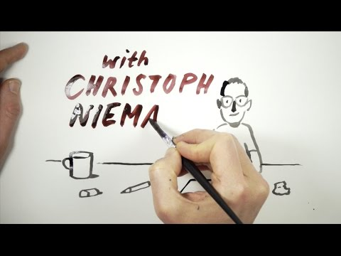 Christoph Niemann draws WORDS and Pictures