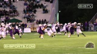 EHSports.com - #7 Ben Gramke passes to #8 Joe Ramstetter for Elder