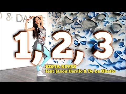 1, 2, 3 - Sofia Reyes (feat.Jason Derulo & De La Ghetto) | Zumba fitness | Dance choreo