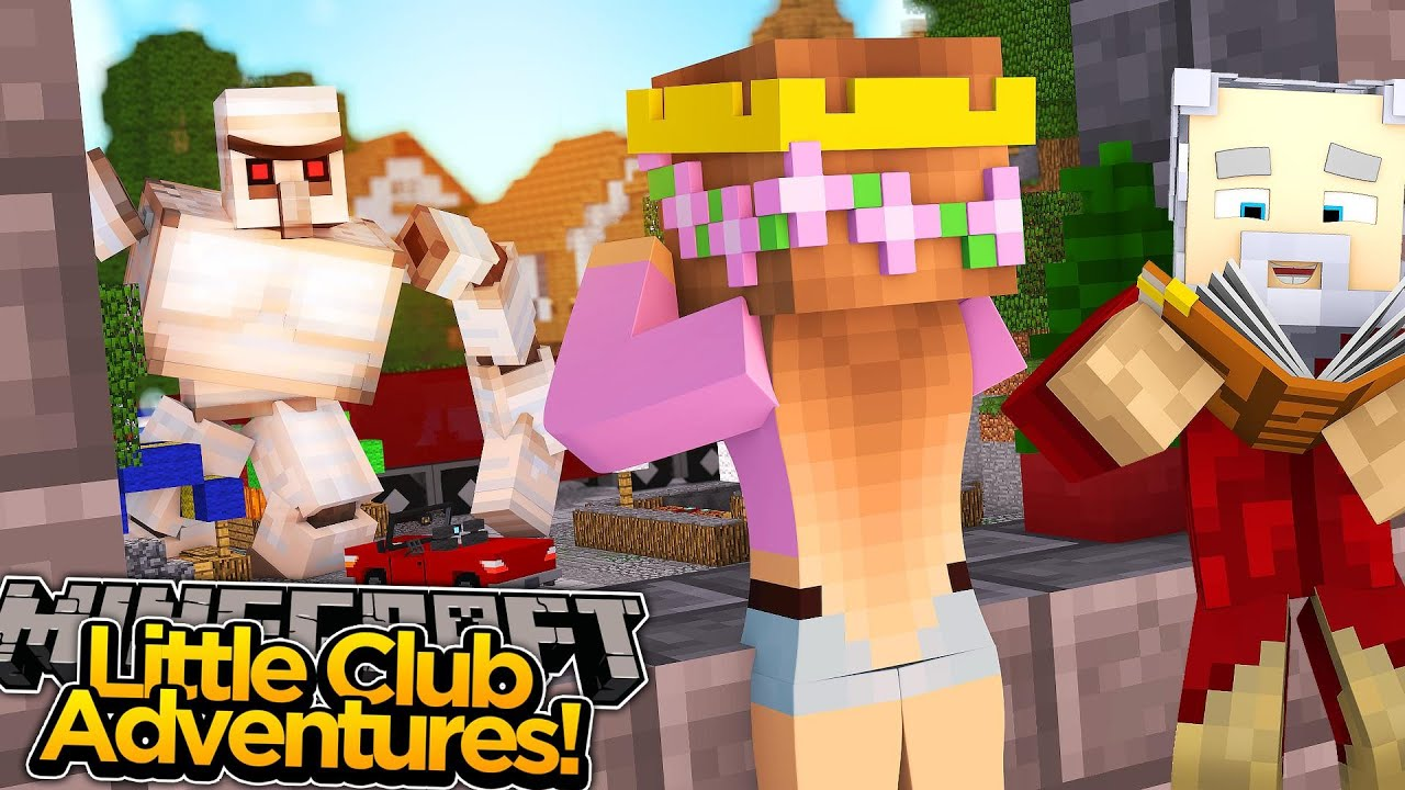 Minecraft little club adventures huge giants attack - The little club ...