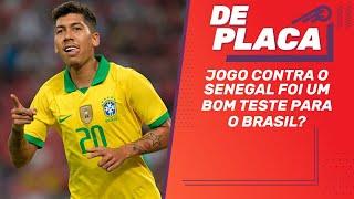 BRASIL x Senegal, SANTOS 2 x 0 PALMEIRAS e Flamengo x Atlético-MG | De Placa (10/10/2019)