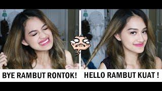 TIPS DAN HAIR CARE UNTUK RAMBUT RONTOK | Nadya Aqilla
