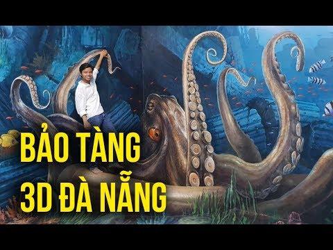Đà Nẵng có gì chơi: Trải nghiệm bảo tàng tranh 3D Art In Paradise Đà Nẵng
