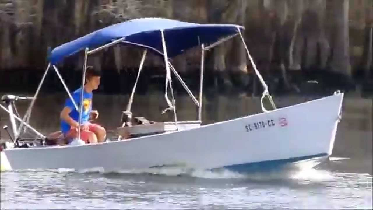 Installing An Inboard Motor In Homemade Boat Short