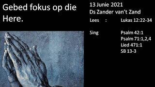 13 Junie 2021 Aand