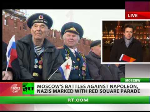 Battles for Moscow: Vintage military parade held in Red Square