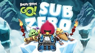 NEW! Angry Birds Go! -- More Sub Zero Levels: Gameplay Trailer