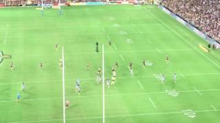 JT Golden Point field goal - Friday March 10, 2017 Broncos v Cowboys Suncorp Stadium