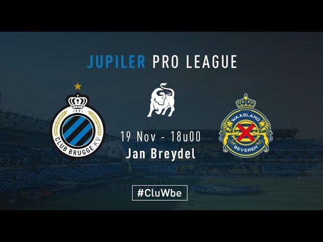 CLUB BRUGGE - WAASLAND BEVEREN | Matchverslag | 2017-2018