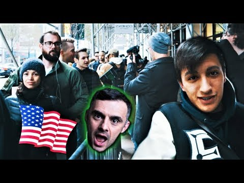 I FLEW TO NYC TO BUY LIMITED SNEAKERS! (I BOUGHT 2 SIGNED PAIRS!) + Meeting Gary Vaynerchuck
