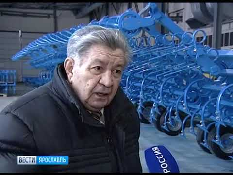 Ярославцы изобрели машину для раскисления почв