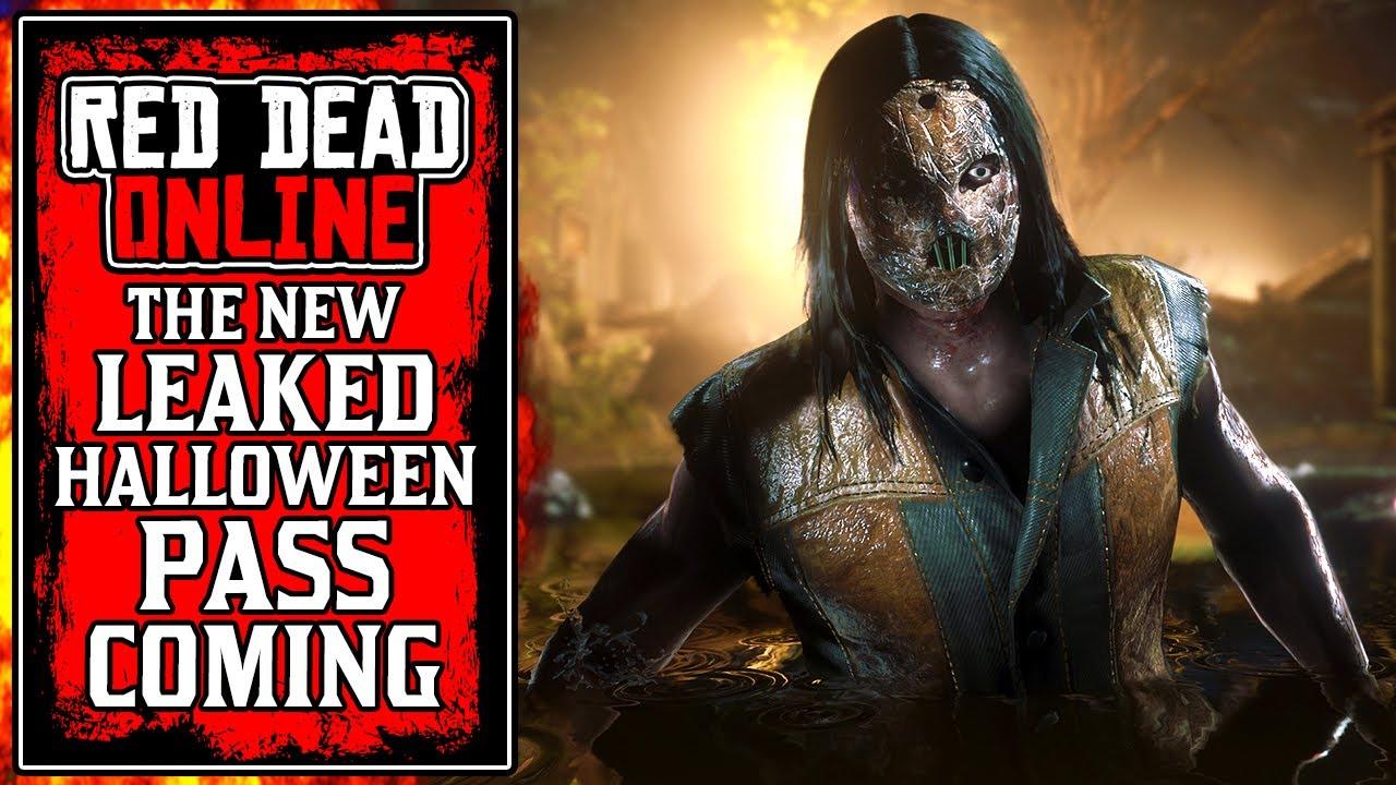 Halloween 2020 Online Leaked Rockstar's LEAKED Halloween Pass in New Red Dead Online Update